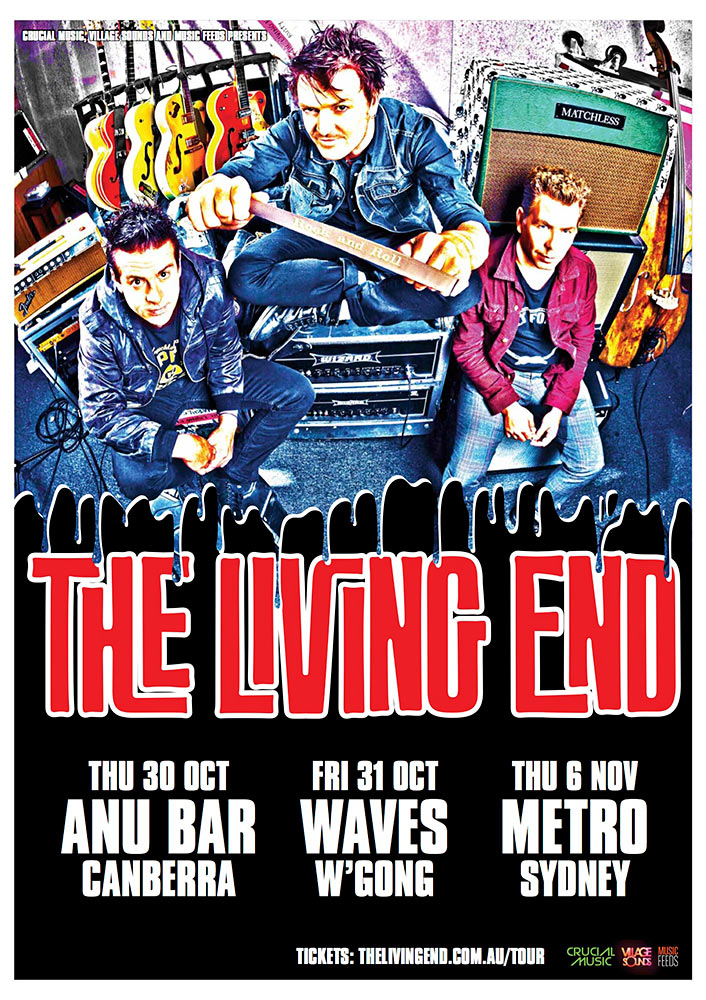 the-living-end-intimate-tour
