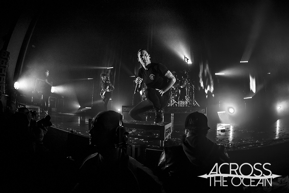 Parkway Drive @ Wollongong Uni, 25th June '16