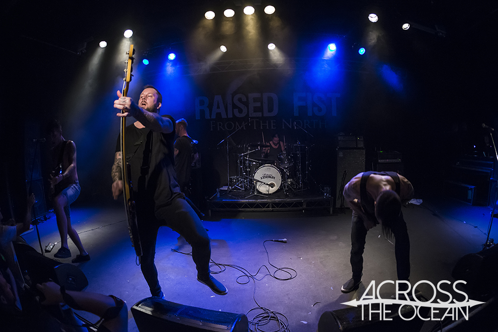 Raised Fist @ The Metro, 2nd December '16